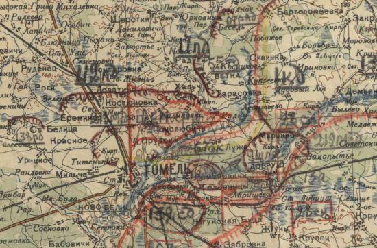 отчетная карта 21-й армии