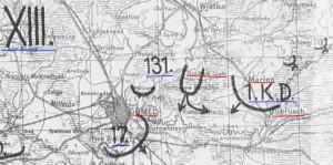 21.08.1941 Schlußlage 2.A.O.K.