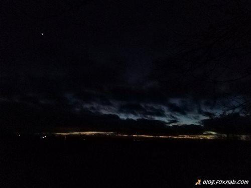 Венера на закате