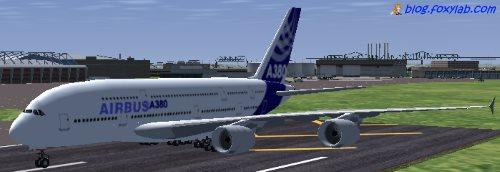 Airbus A380 FlightGear