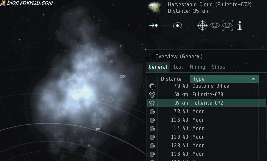 EVE Online добыча газа