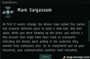 EVE Online Mare Sargassum