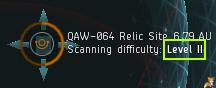 EVE Online сложность сканирования