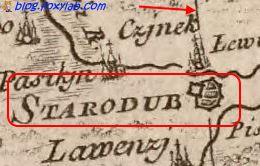 Стародуб карта Заннони