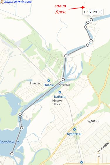 залив дрец Гомель