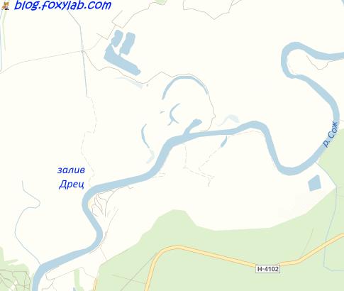 залив Дрец Сож