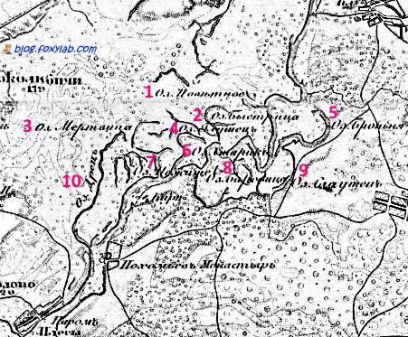 гомельские озера