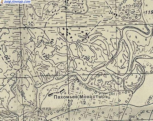 карта РККА Сож