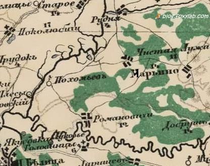 Гомель карта Стрельбицкого