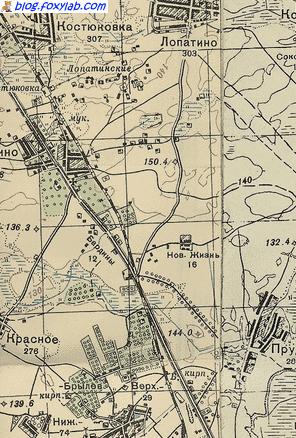 Гомель карта 1941 года