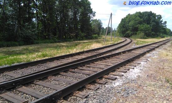 объездная железная дорога Гомель